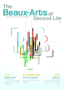The Beaux-Arts of Second Life March 2015 - 1