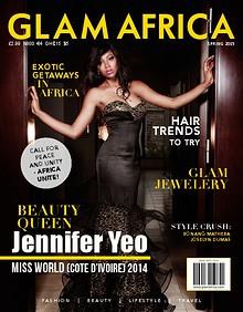 Glam Africa Spring 2015 (Jennifer Yeo) Glam Africa Spring 2015 (Jennifer Yeo - Miss World Cote d'Ivoire)