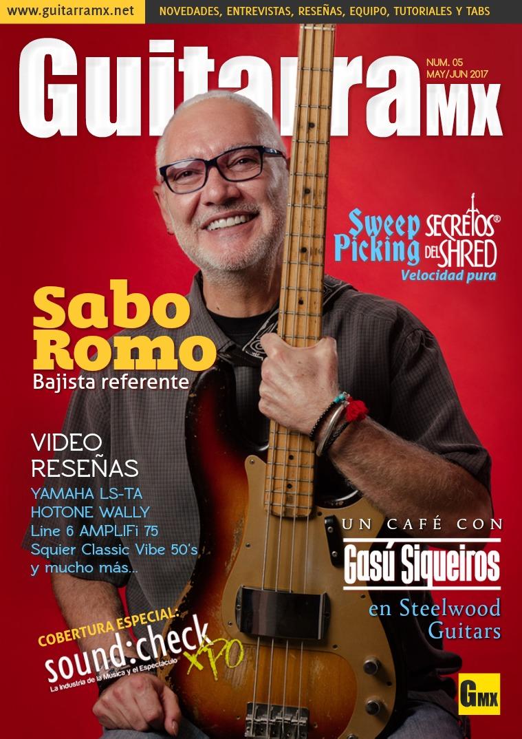 Revista GuitarraMX MAY/JUN 2017