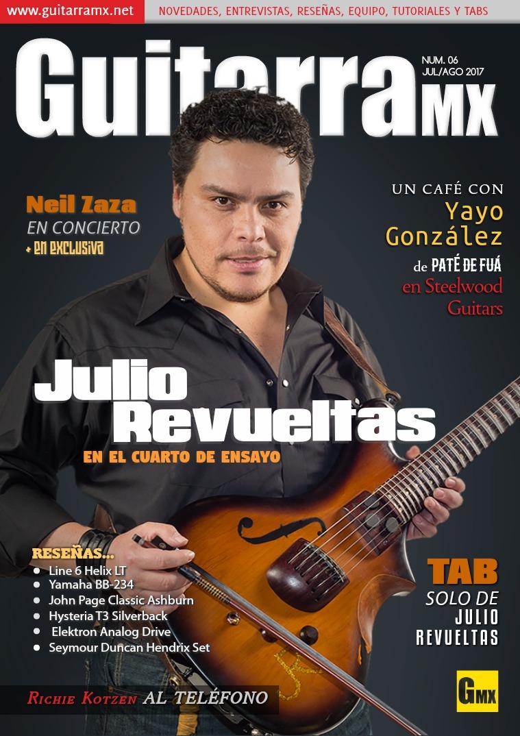 Revista GuitarraMX JUL/AGO 2017