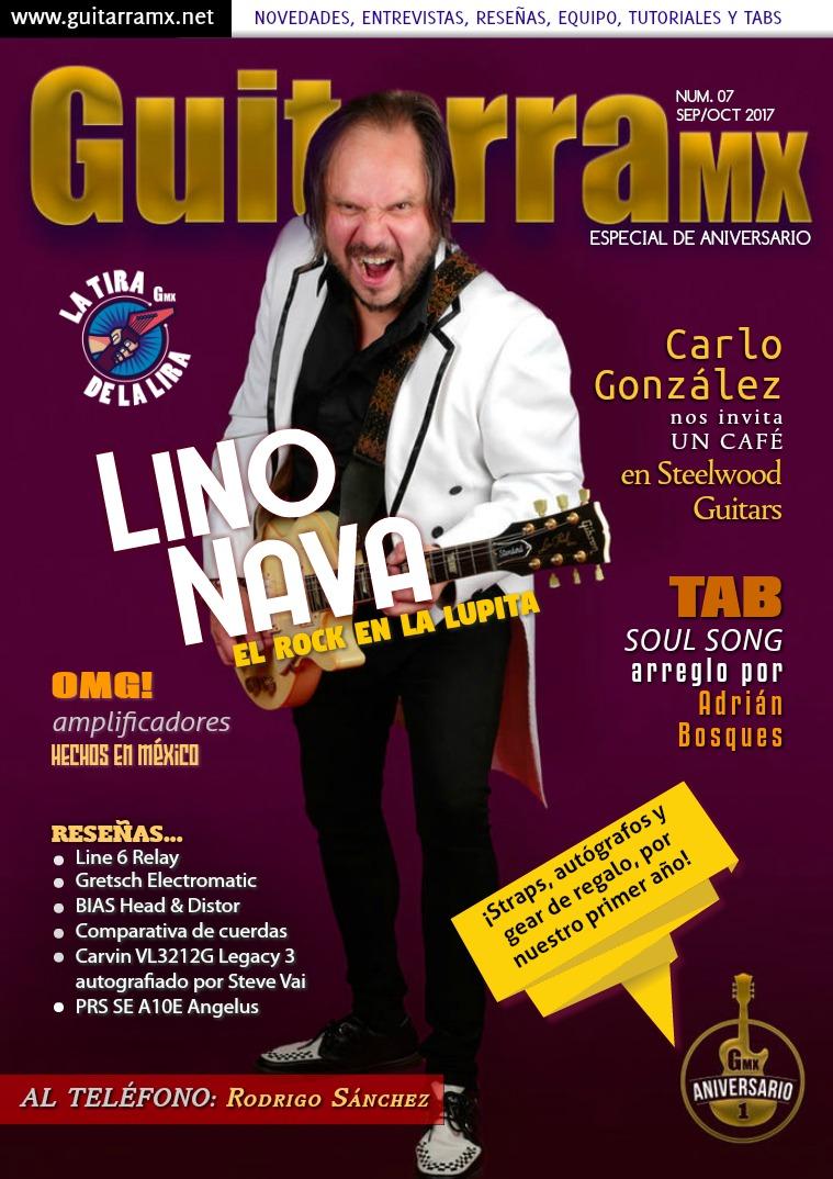 Revista GuitarraMX SEP/OCT 2017