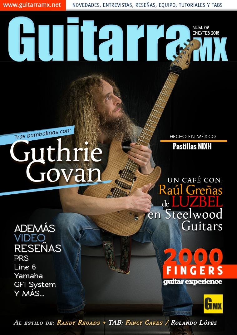 Revista GuitarraMX ENE/FEB 2018