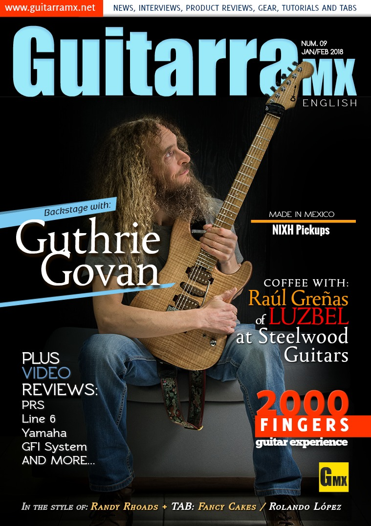 GuitarraMX - ENGLISH JAN/FEB 2018