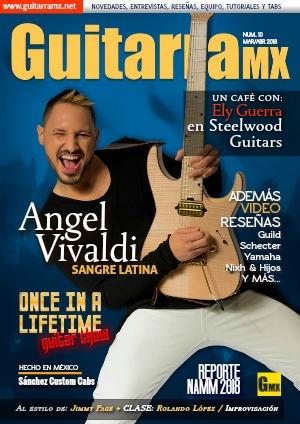 Revista GuitarraMX MAR/ABR 2018