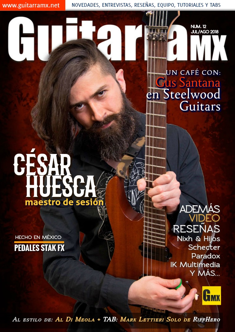 Revista GuitarraMX JUL/AGO 2018
