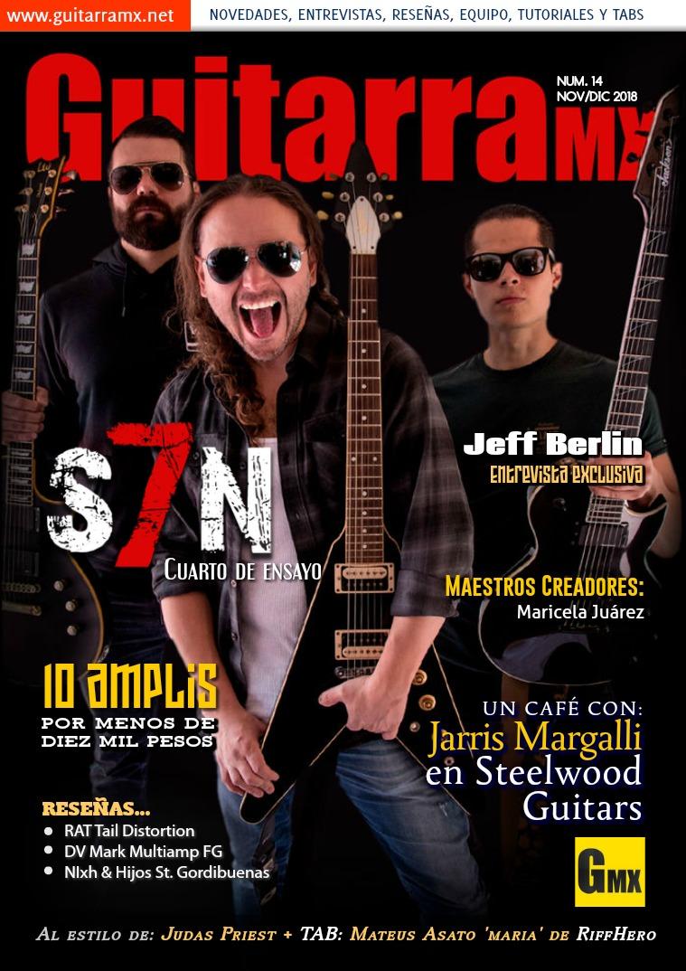 Revista GuitarraMX NOV/DIC 2018