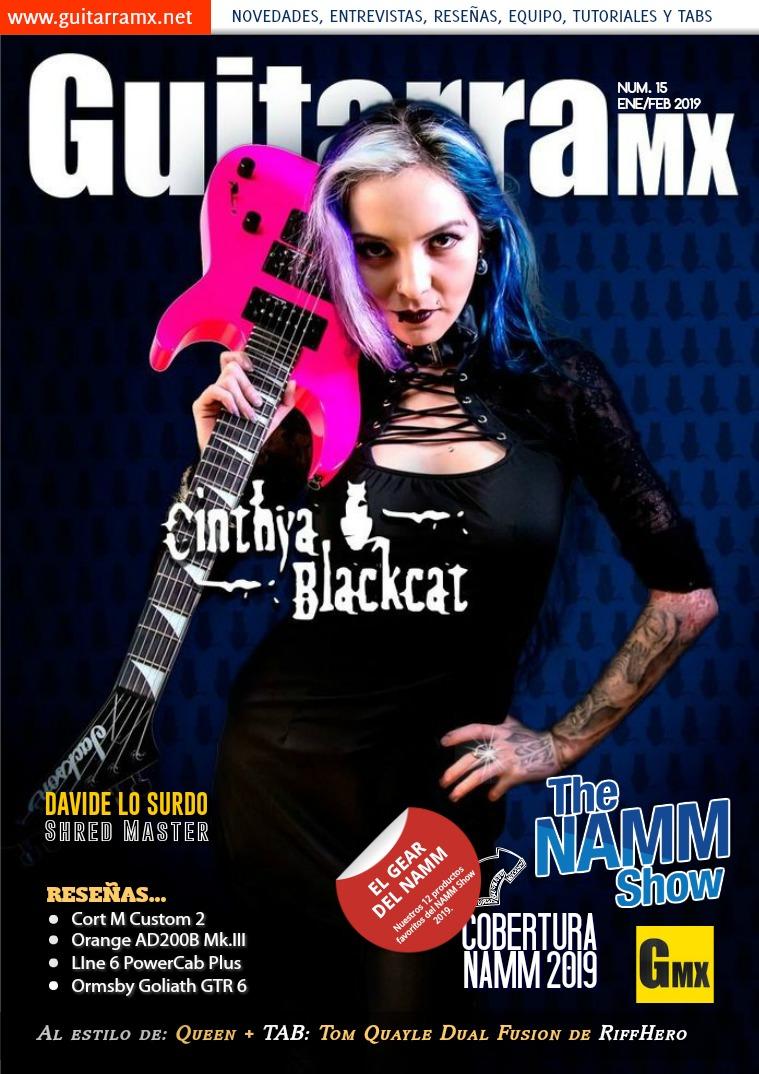 Revista GuitarraMX ENE/FEB 2019