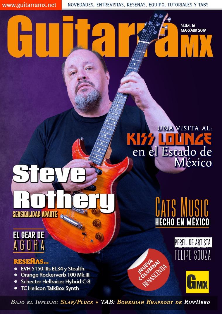 Revista GuitarraMX MAR/ABR 2019