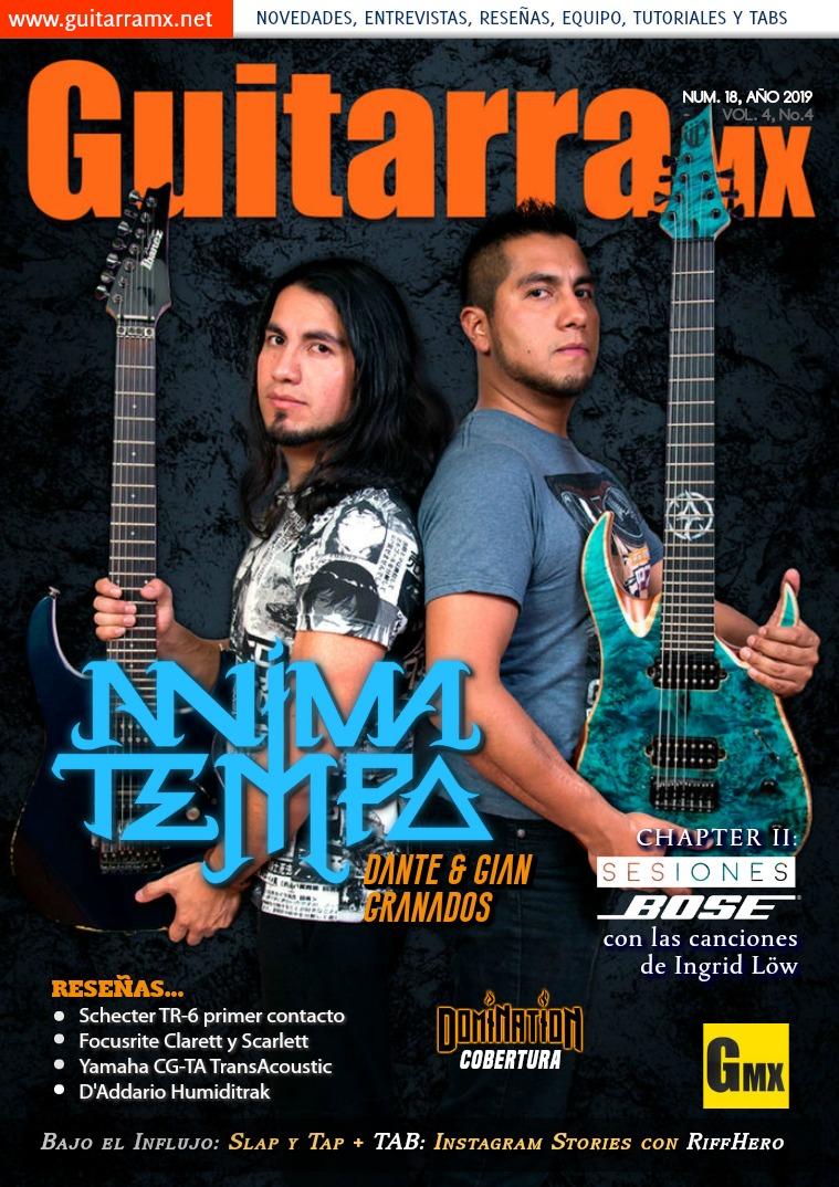 Revista GuitarraMX NÚMERO 18 - AÑO 2019
