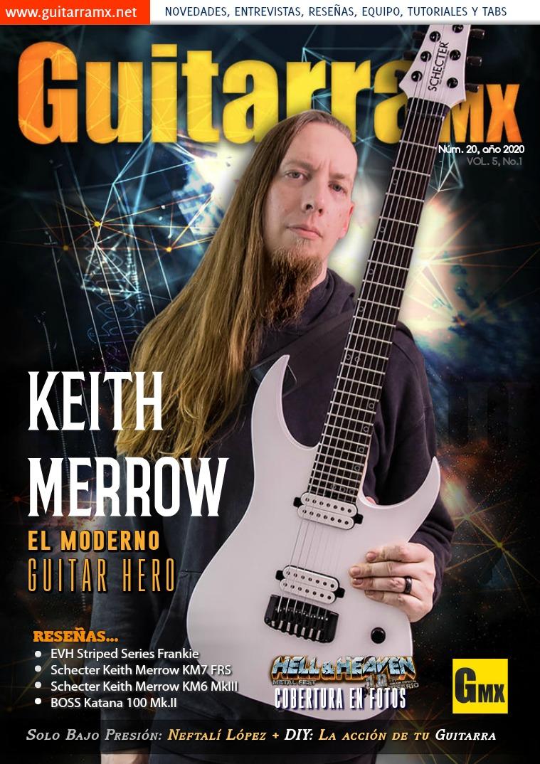 Revista GuitarraMX NÚMERO 20 - 2020