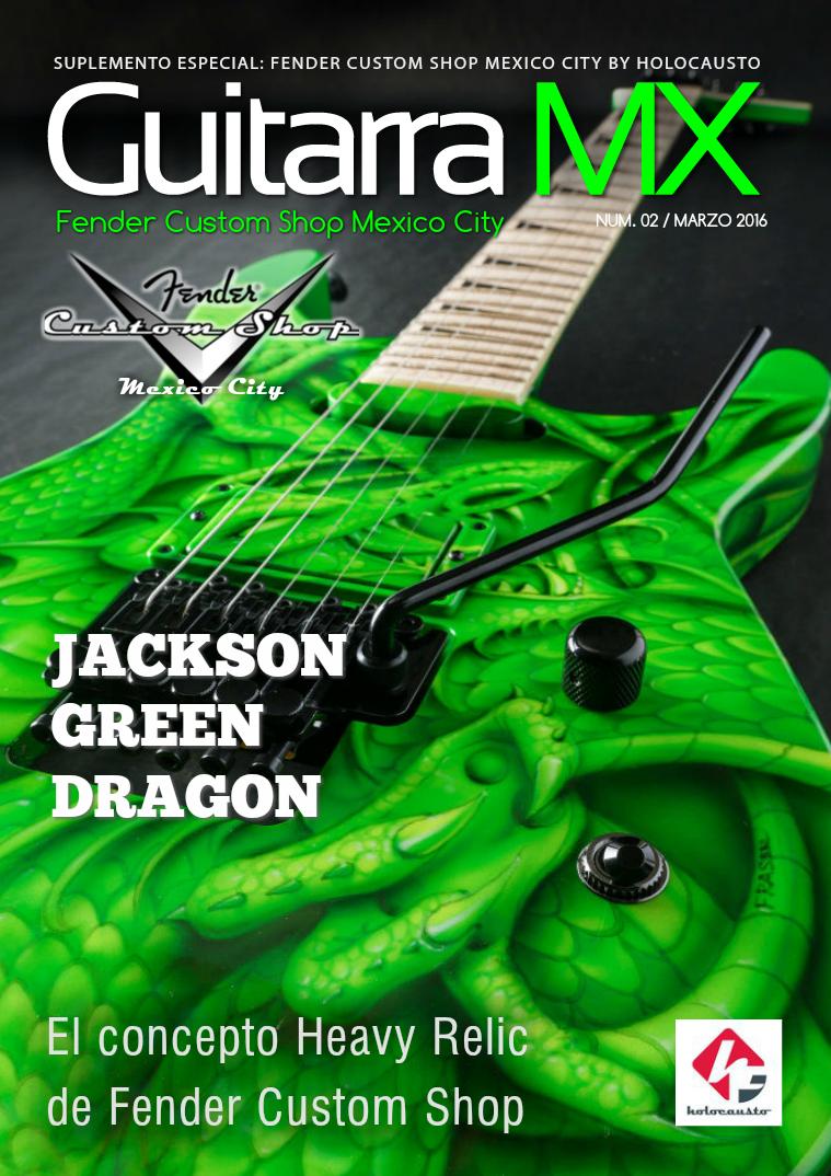 Revista GuitarraMX MAR-2016