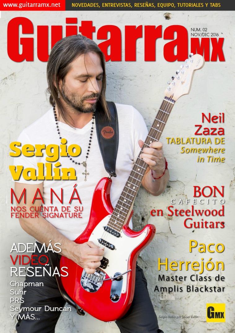 Revista GuitarraMX NOV/DIC 2016