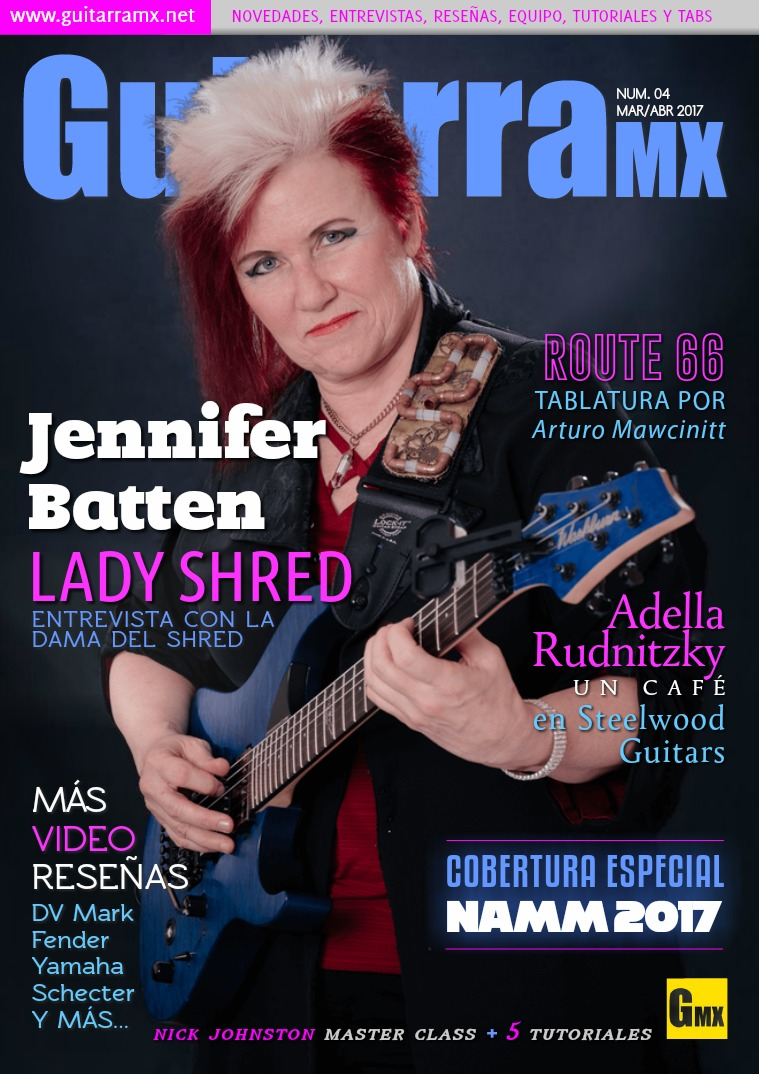 Revista GuitarraMX MAR/ABR 2017