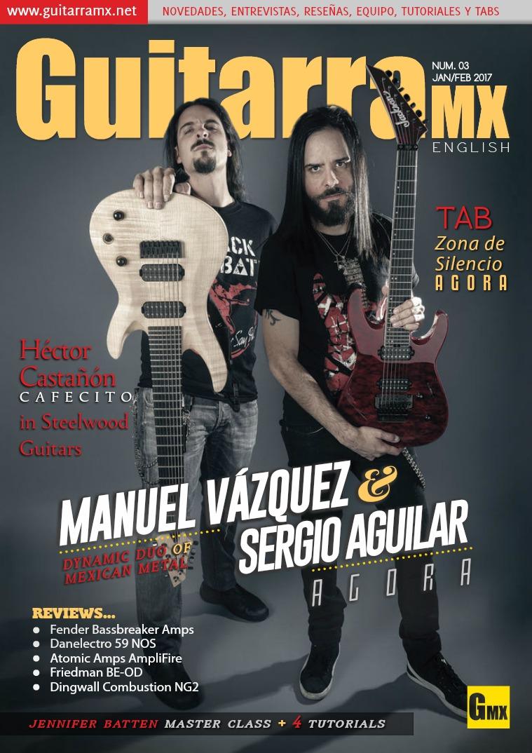 GuitarraMX - ENGLISH JAN/FEB 2017