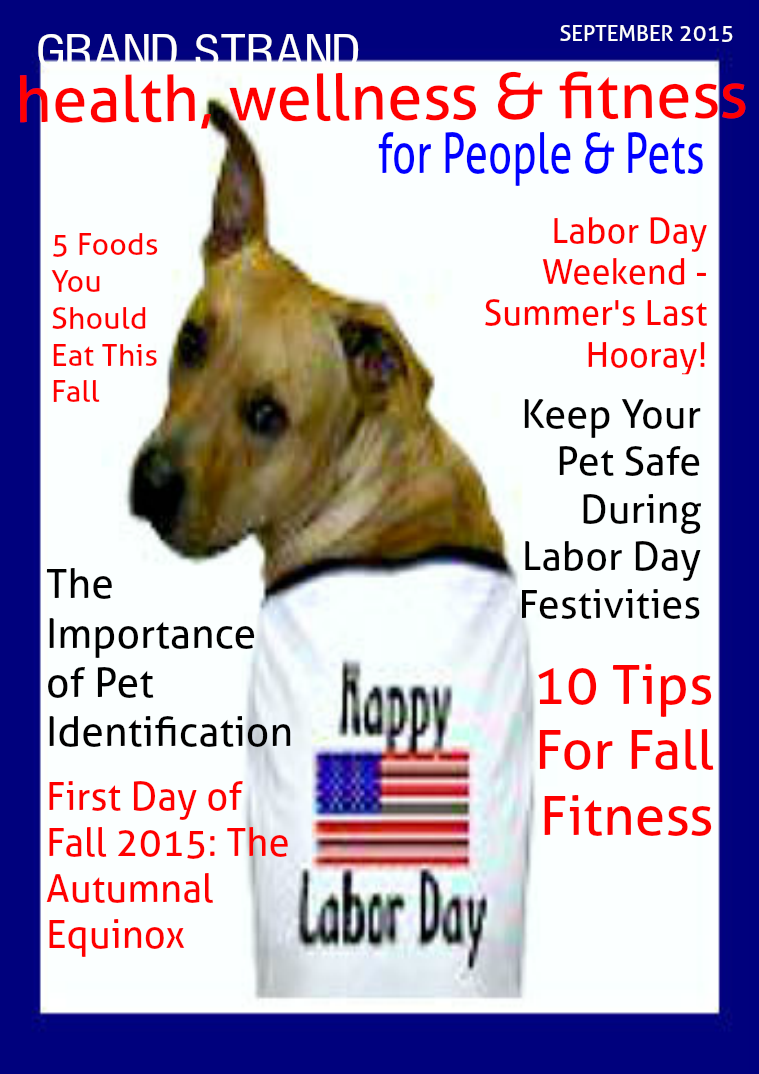 Health, Wellness and Fitness for People & Pets September 2015