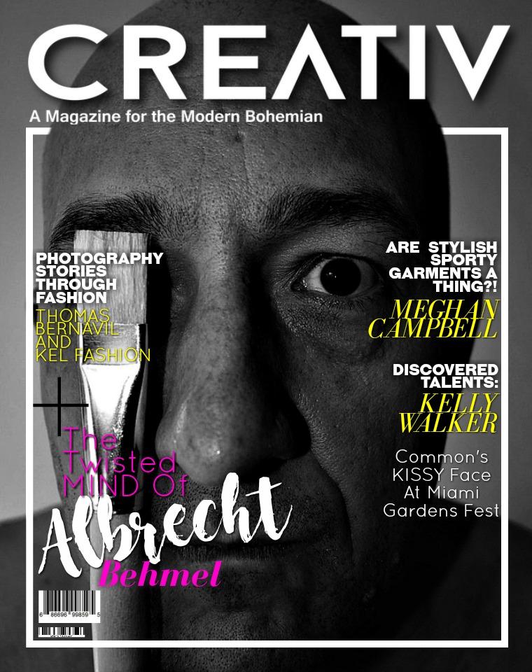CREATIV MODERN BOHEMIAN MAGAZINE. CREATIV FEB - MAR 2017