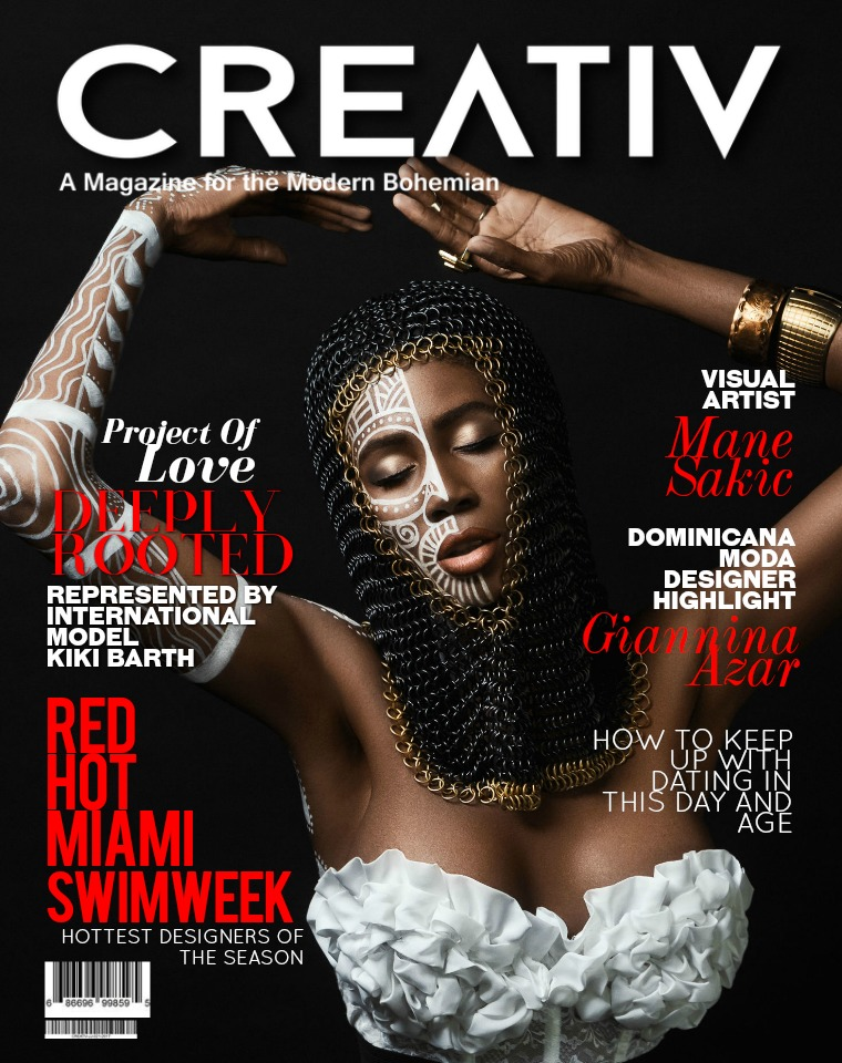 CREATIV MODERN BOHEMIAN MAGAZINE. CREATIV JUNE-JULY 2017
