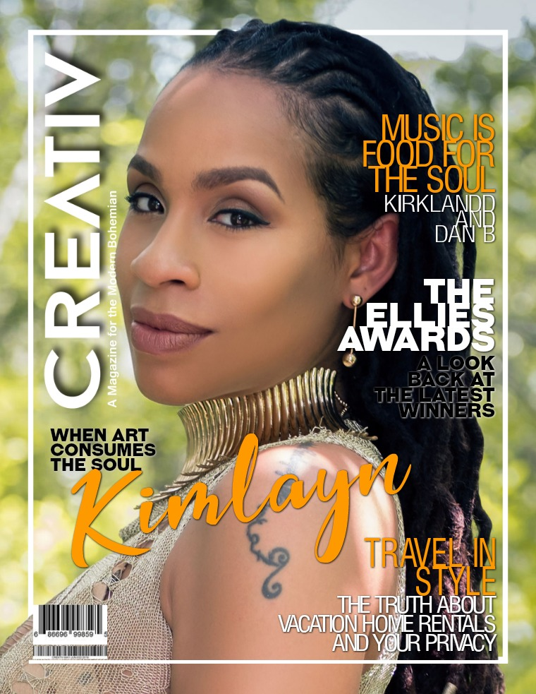 CREATIV MODERN BOHEMIAN MAGAZINE. CREATIV MAY - JUN 2019
