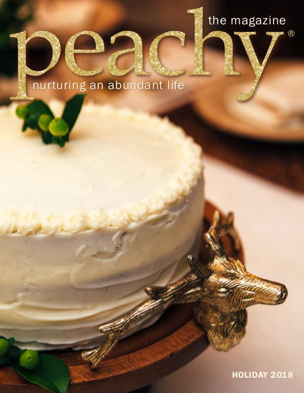 Peachy the Magazine Holiday 2018