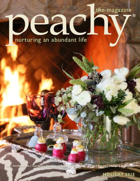 Peachy the Magazine Holiday 2015