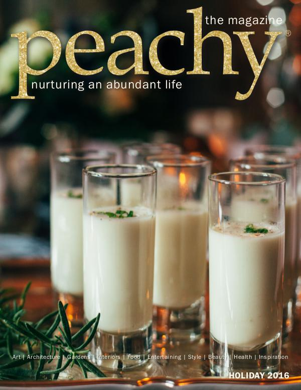 Peachy the Magazine Holiday 2016