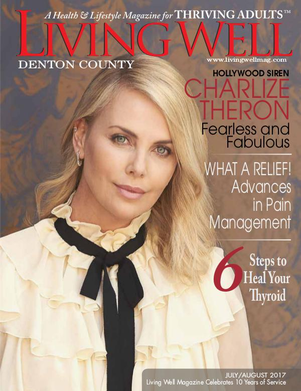 Denton County  Living Well Magazine July/August 2017