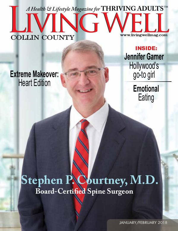 Collin County Living Well Magazine January/February 2018