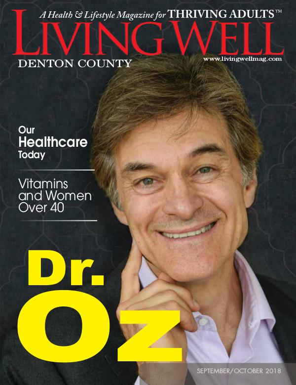 Denton County  Living Well Magazine September/October 2018