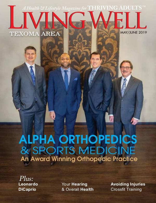 Texoma Living Well Magazine May/June 2019