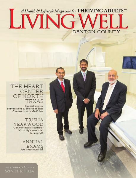 Denton County  Living Well Magazine Winter 2014