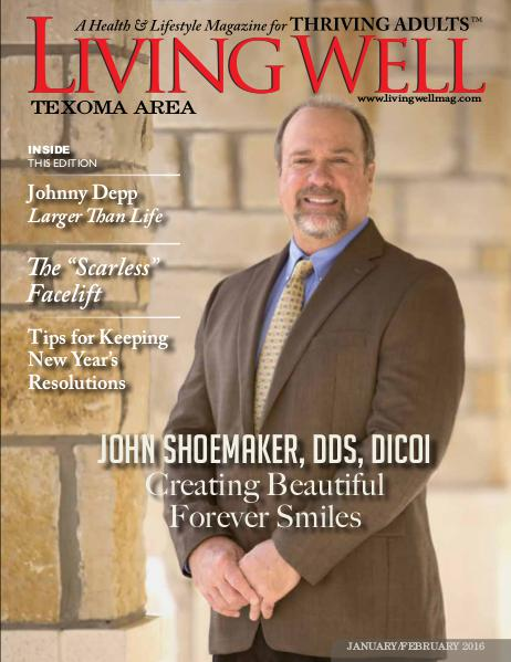 Texoma Living Well Magazine January/February 2016