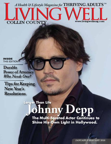 Collin County Living Well Magazine January/February 2016