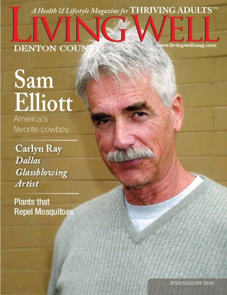 Denton County  Living Well Magazine July/August 2016