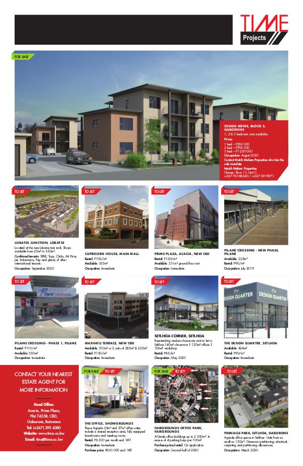 Time Projects Letting / Selling Brochure June 2019