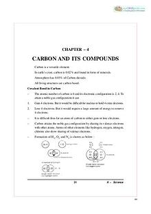 chapter 4 carbon and its compound
