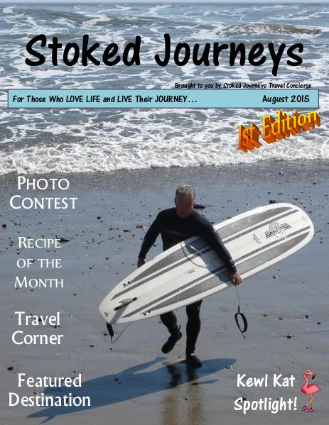 Stoked Journeys 1st Edition-August 2015