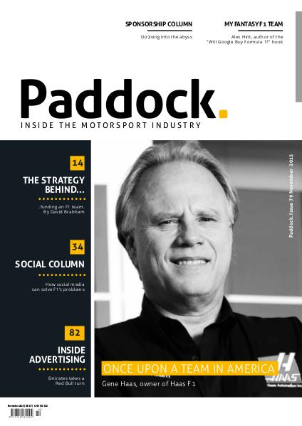 Paddock magazine November 2015 Issue 79