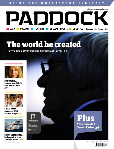 Paddock magazine December 2014 / January 2015 Issue 70