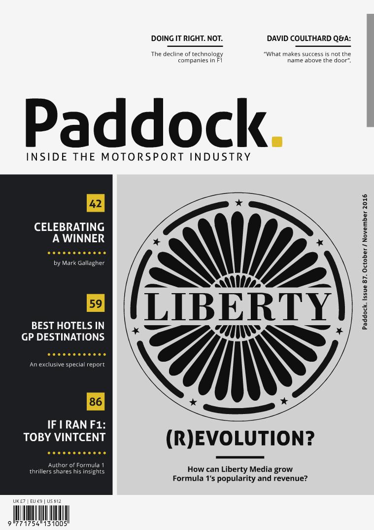 Paddock magazine October/November 2016 Issue 87
