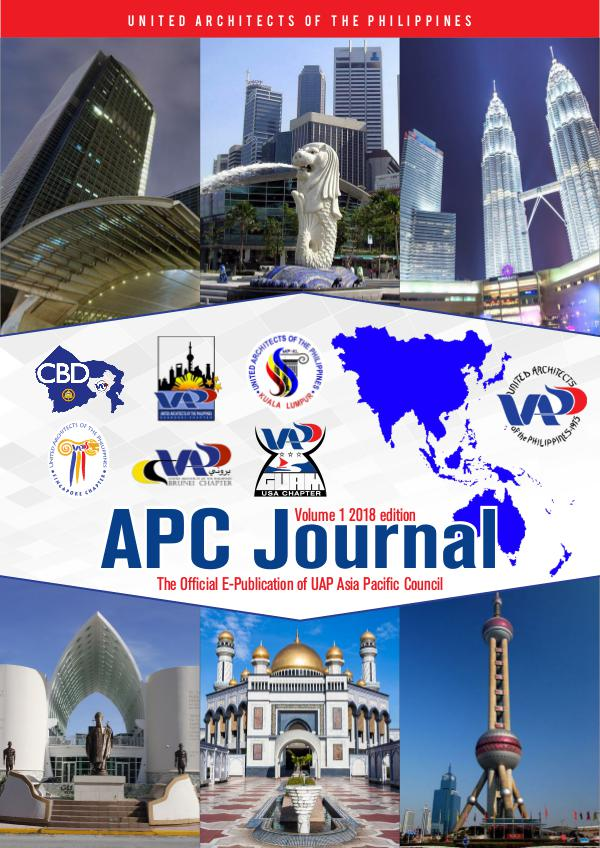 UNITED ARCHITECTS OF THE PHILIPPINES ASIA PACIFIC COUNCIL APC Journal Final