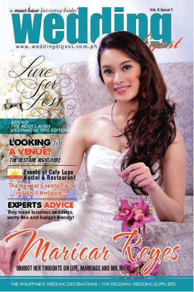 Wedding Digest Philippines Luxe For Less Edition