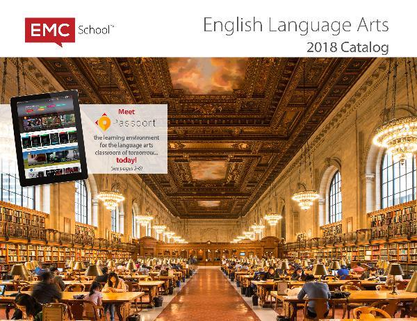 English Language Arts Catalog 2018 ELACAT 2018