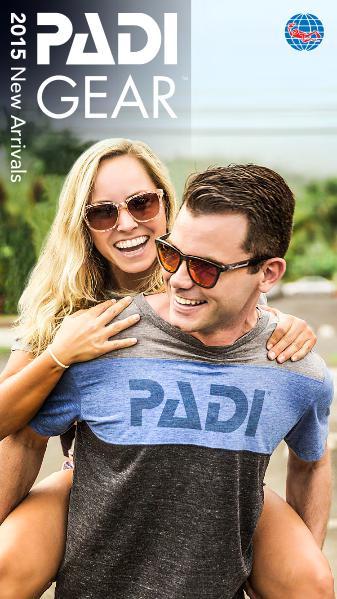 PADI Gear 2015 Spring/Summer