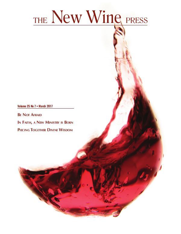 The New Wine Press vol 25 no 7 March 2017