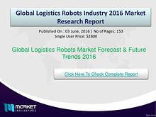 Global Logistics Robots Market Opportunities & Trends 2016