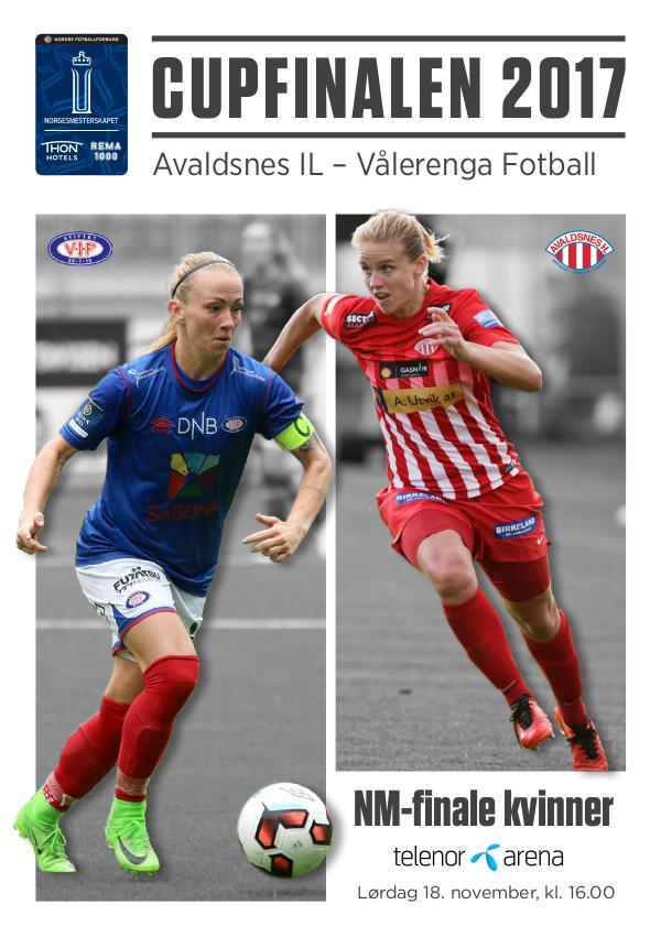 Cupfinaleprogram Kvinner 2017