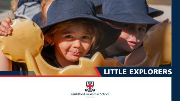 Little Explorers Program Little Explorers EBook Final