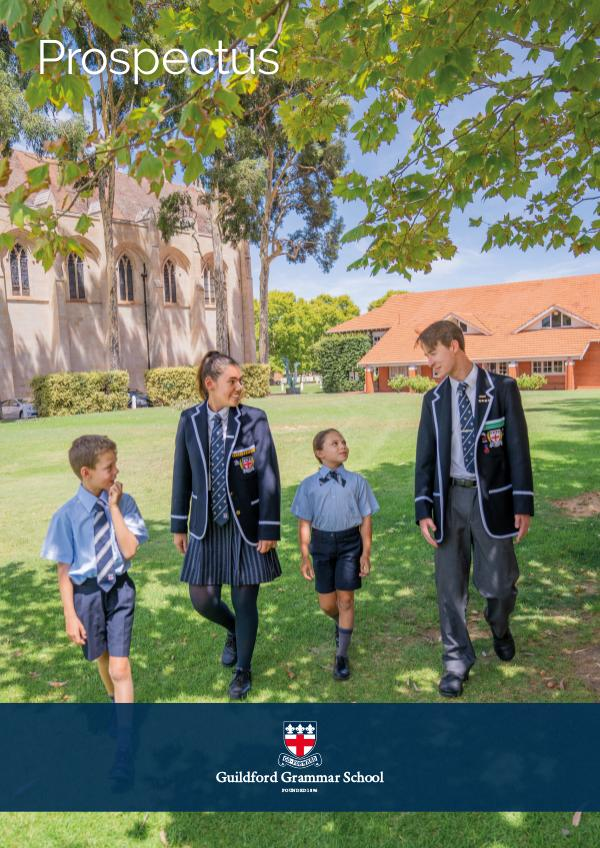 Guildford Grammar School Prospectus 2020 April 2020