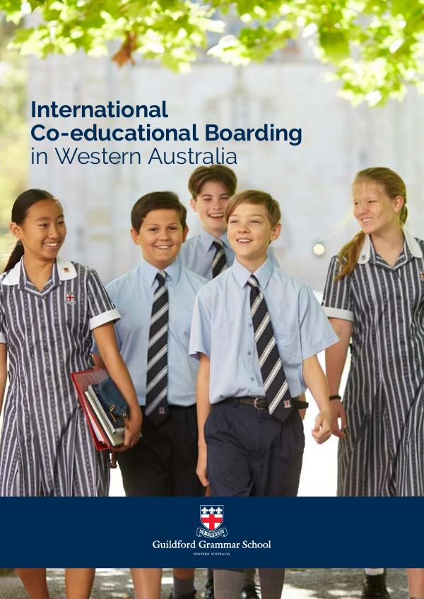 International Boarding at Guildford Grammar School 2020 April 2020
