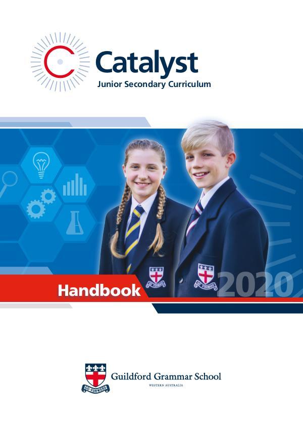 2020 Catalyst Handbook 2020 Catalyst Handbook
